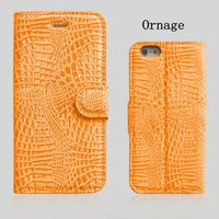 Factory OEM Wallet PU Leather Snake Skin Case for samsung star 3 duos s5222