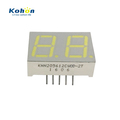 Small two digit seven segment LED display with 0.56 inch,white color and common cathode