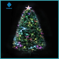 customized colorful fiber optic aritificial christmas tree,made in China