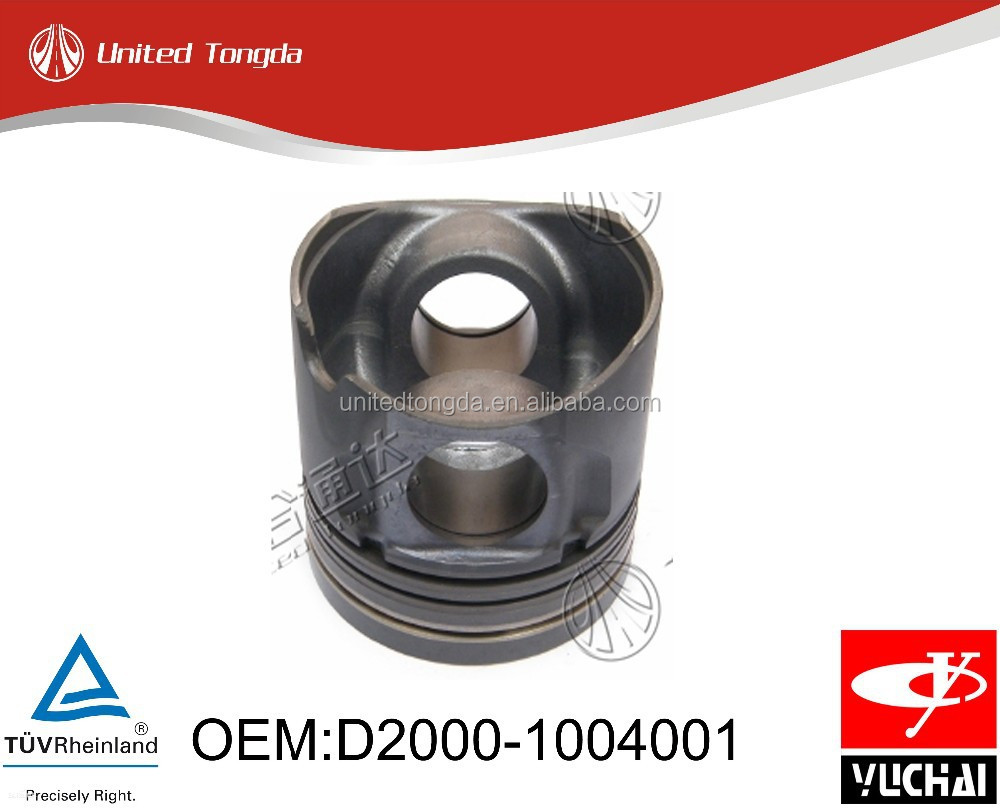 yuchai diesel engine YC4D piston