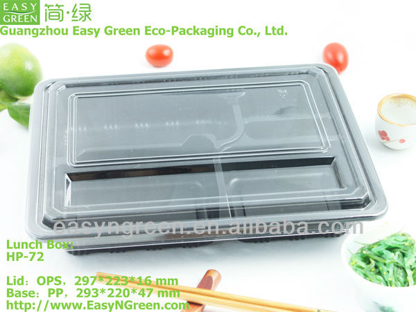 Disposable Microwave PP 5 Compartment Lunch Box