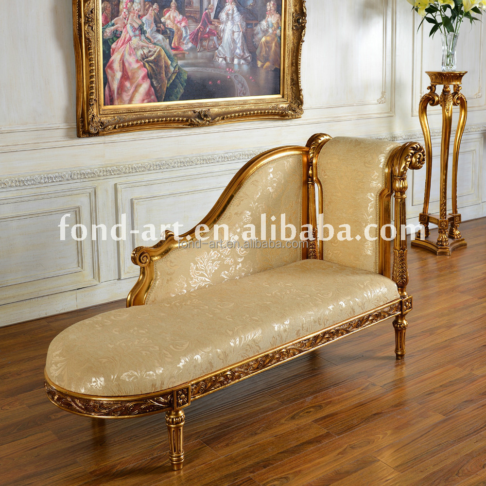 C32 Antique Leisure Chaise Lounge Bedroom Chairs