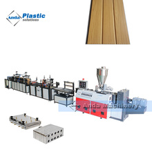 Full automatic plastic PVC wall panel making machine / production line