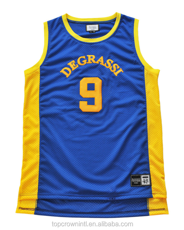 Custom Basketball Jersey League Team Sports Top Uniform BJ112