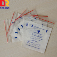 Custom Chinese Medical Bag with Ziplock Medicine Bag Small Pill Bags