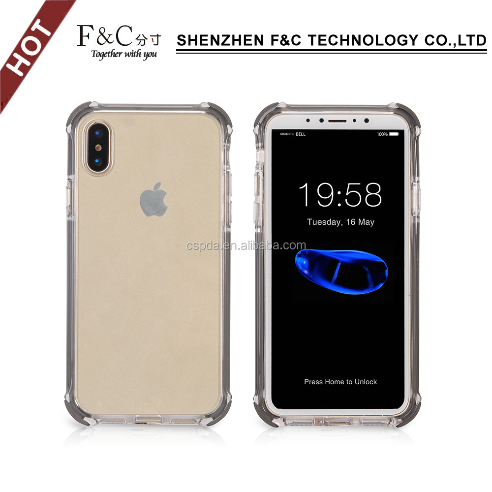 For iphone 8 case tpu shockproof clear soft tpu case for iphone 8