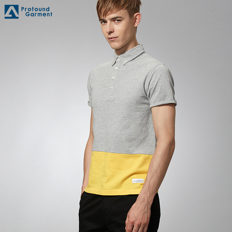 wholesale custom designs casual short sleeves man polo t shirt 100% cotton multicoloured color polo shirt