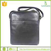 Classic Shoulder Trend Genuine Leather Handbag for Gentlemen, handbag genuine leather