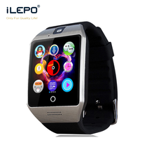 Latest Wrist Watch Mobile Phone, Touch Screen Smart Watch, Dz09 Smartwatch App