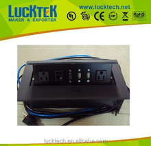 Multifunction Damped type desktop pop up power socket