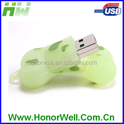Cute Best Selling Bone Shape for Dog PVC USB Pendrive