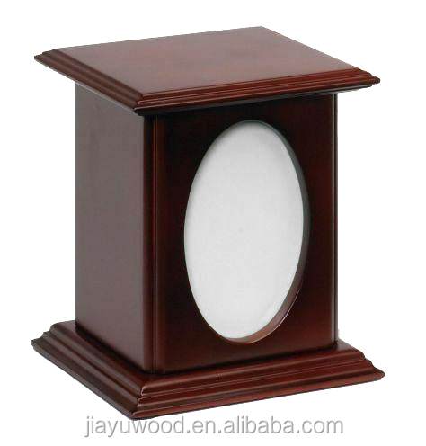 Top selling funeral supplies wholesale creamation pet urns with photo frame for ashes
