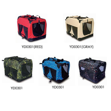 portable carrying soft dog cage pet cat carrier dog crate