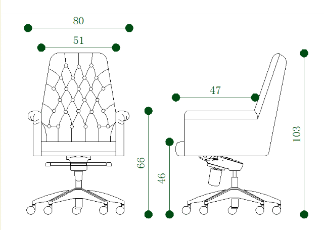 High Quality Office Chairs Large Swivel Chair WN8172M