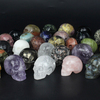 Wholesale Amethyst Quartz Crystal Skull For