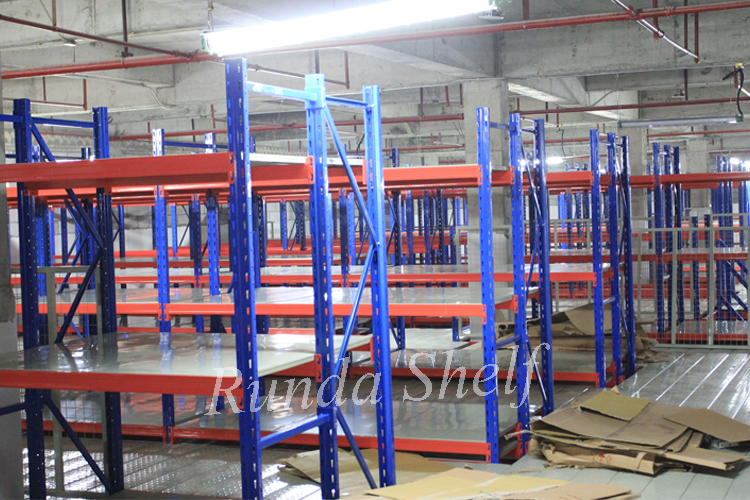 industrial shelf used long span shelving metal hanging rack