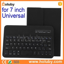 7 inch Universal Magnetic 4 Flip Stand Bluetooth 3.0 Keyboard For iPadmini 1 2 Retina Samsung Galaxy Tab 3 P3200 P3210 P1000 P62