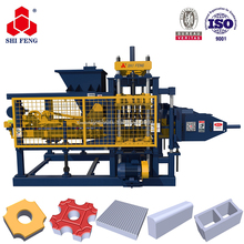 High Pressure Unfired Concrete Cement Brick Block Making Machine