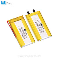 lithium polymer battery 402040 280mah and li-po battery for smart watch