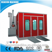 High quality BC-8100 spray filter bake paint booth from china direct manufacturer