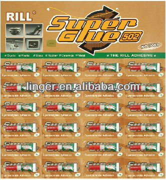 chemicals strong super glue 502