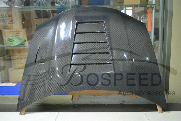 Bospeed Auto Accessories Carbon Fiber Hood Bonnet for Honda City