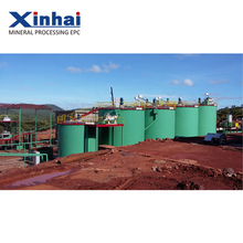 China Low Cost Gold Cyanide Process Plant---300tpd CIL plant