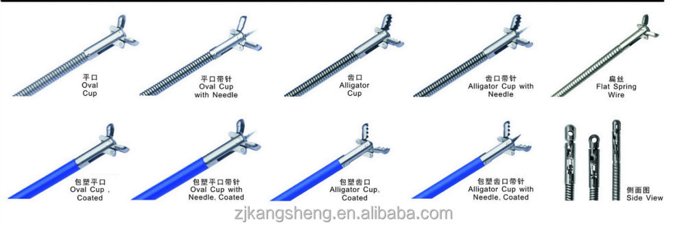 endoscopic forceps China supplier/types medical disposable/surgical instruments biopsy forceps