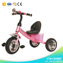 Wholesale high quality child tricycle / kids tricycle /steel pedal baby kids tricycle
