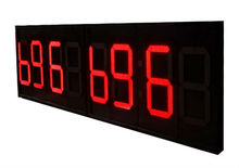 "outdoor led sport countdown clock/timer LED Countdown Timer 6"" Large Digital LED Wall Clock LED Countdown Clock"