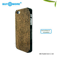 wood screen protector wooden cellphone case with different bamboo case for iphone 5s