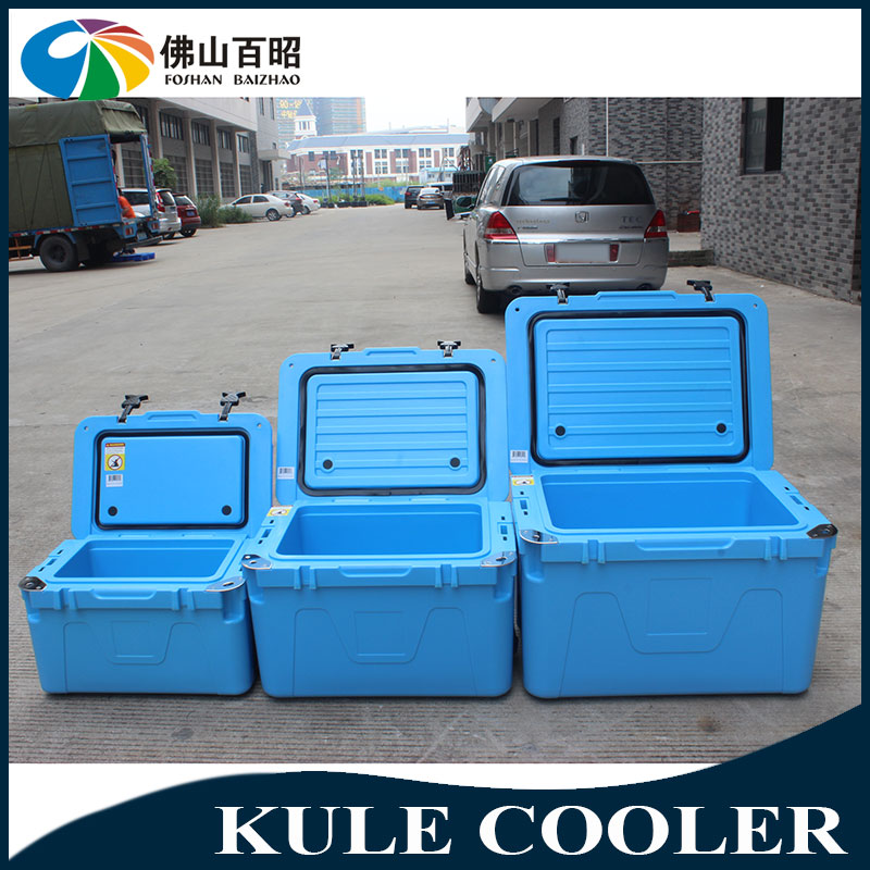 Fishing cooler box Square plastic insulated ice cooler bucket