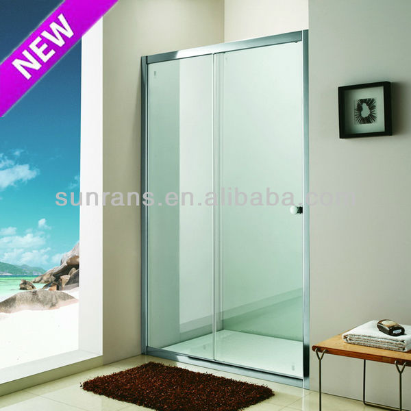 6MM tempered glass shower cabin hexagon shower enclosure