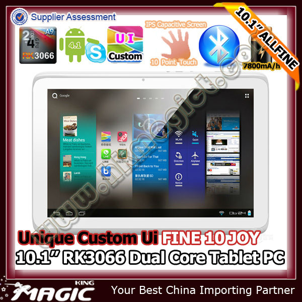 FINE10 Joy DDR 3 1G, 16G tablets android 4 10