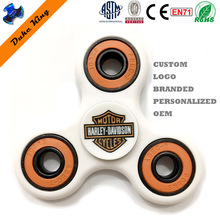 Customized Fidget Spinner Logo Christmas Gift Custom Spinner Branded Personalized OEM Hand Finger Spinner Toy