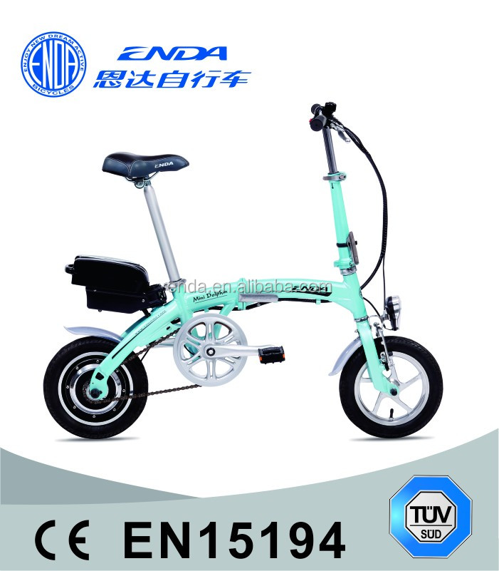 "MINI 12"" Aluminum Folding Electric Bike TDU12Z001"