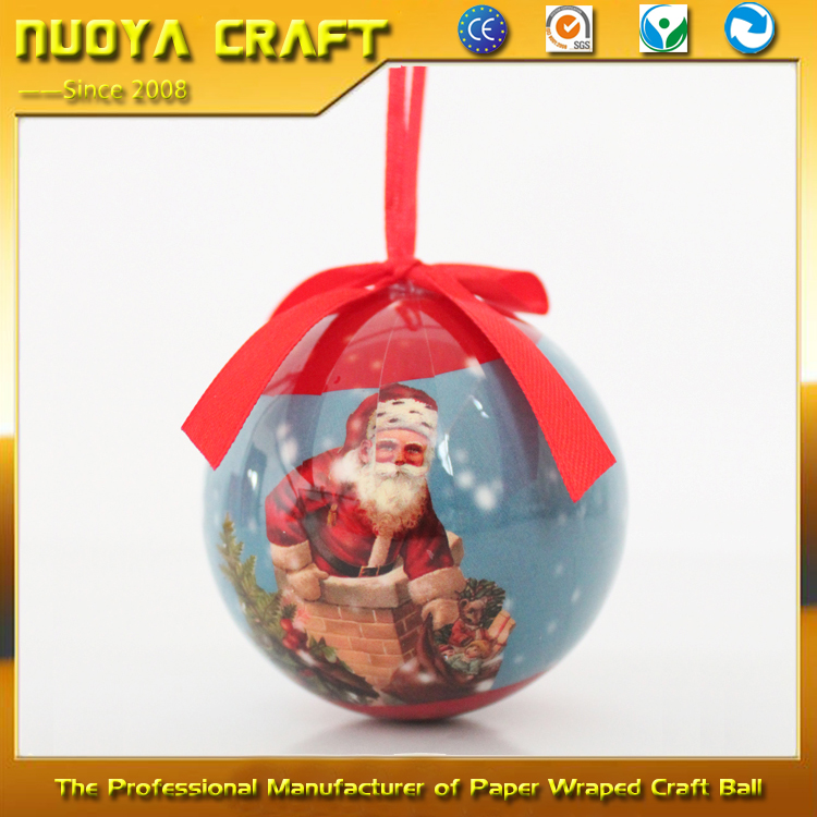2017 Xmas decoration wholesale, painting ball for xmas decoration