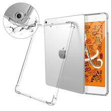 Flexible TPU Clear Cover Impact Resistant Shockproof Protective Bumper Shell Cover <strong>for</strong> <strong>iPad</strong> Mini 5 2019 <strong>Case</strong>