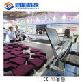 YINENG CNC Automatic Knitting Textile Fabric Cutter Cutting Machine of shoes with Singer Sewing Machine