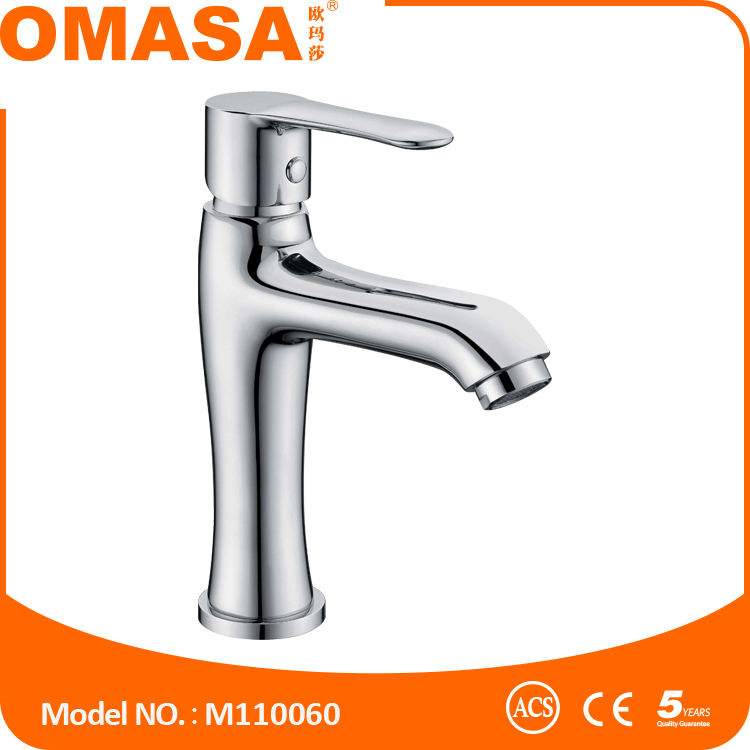 Single handle water tap brass basin faucet with good quality