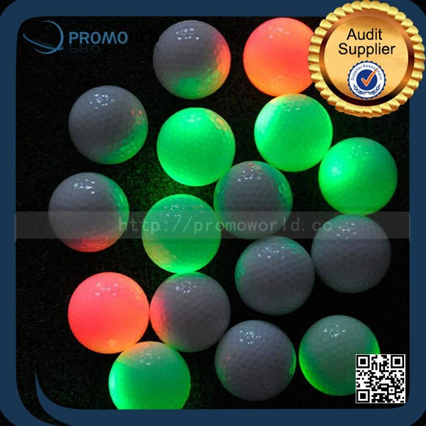 large golf ball fluorescent golf ball biodegradable golf ball