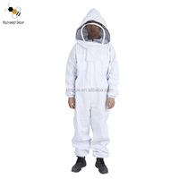 low price high quality cotton beekeeping suits