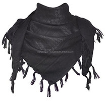 wholesale 100% Cotton Thicken Shemagh Tactical Desert Scarf Wrap