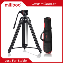 miliboo MTT601A Aluminum video tripod with MYT801 Hydraulic Bowl Head for camcorder