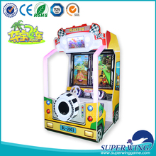 The new Children electronic coin operated racing , racing game machine for kids