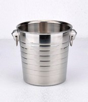 Wholesale Hot sale metal ice wine bucket