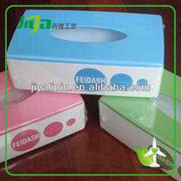 Cheap eco-friendly hard cover tissue box