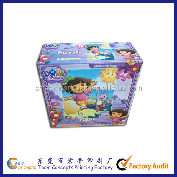 Kids Cardboard For Jigsaw Puzzle Companies
