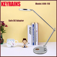 2016 silver iron dimmable light/lamps for hotels decoration with UL certificate