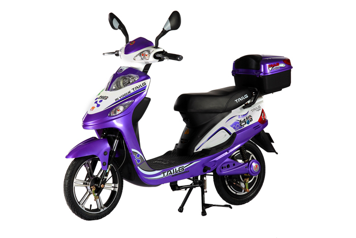 350W 48V luxury electric scooter cheap lead-acid battery electric bike moped scooter TDR398Z